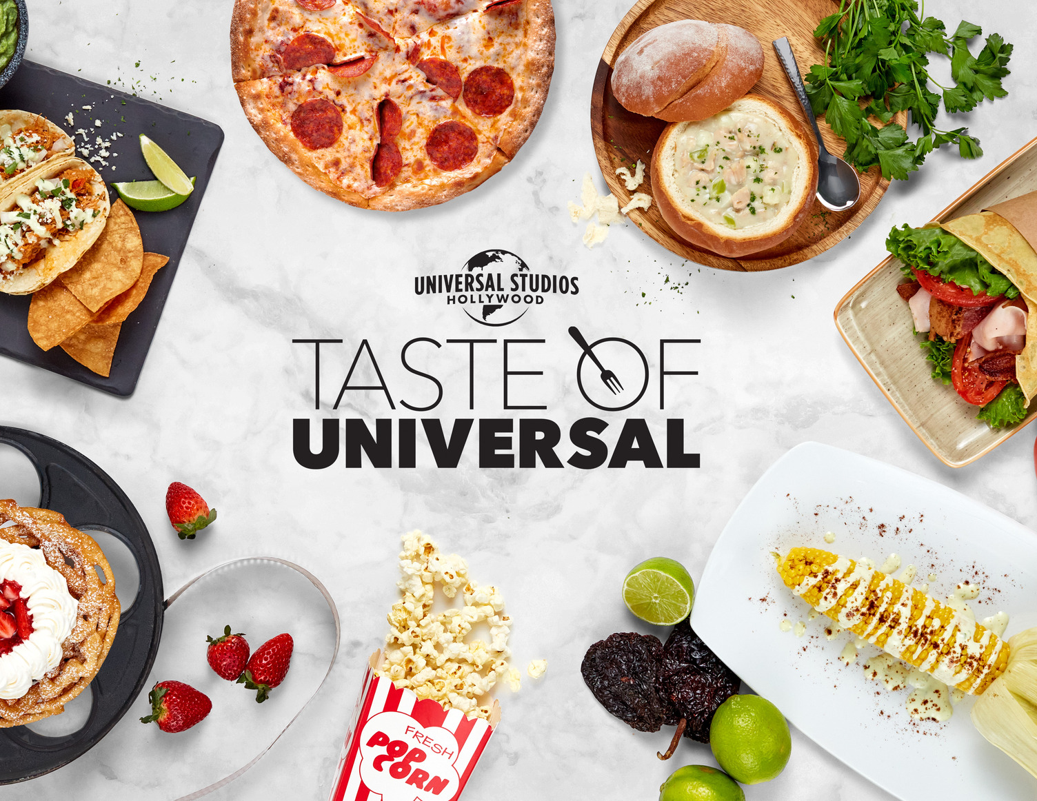 "Universal Studios Hollywood Re-Opens for ""Taste of Universal"""