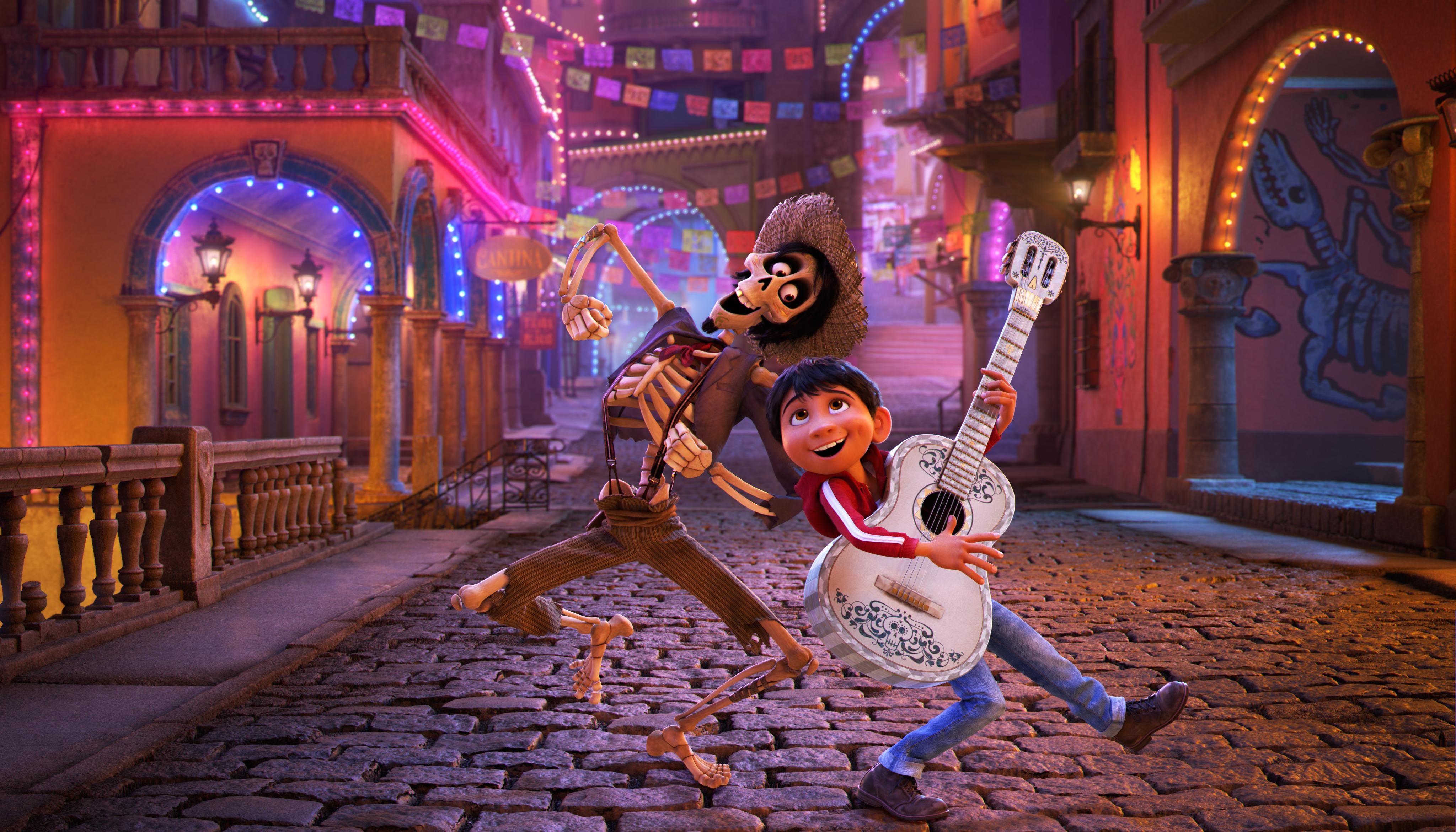Disney-Pixar's Coco.
