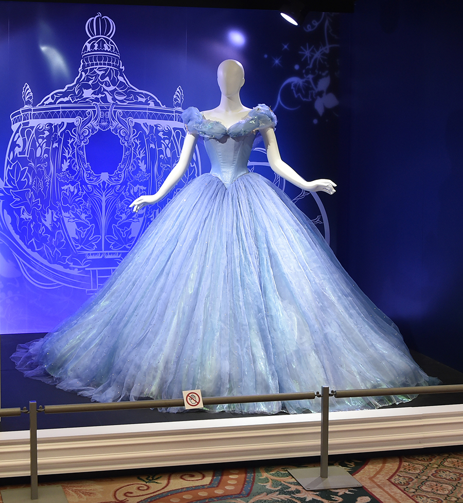Lily James' iconic dress from the 2015 live action adaptation, Cinderella